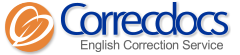 Correcdocs - 1単語1円, 1回100円~ 高品質/良心的/格安の英文校正(手直し)サービス